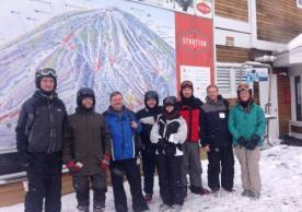 2015 Ski trip group photo