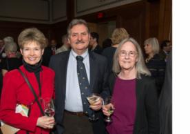 Marcia Johnson (r), Mark Johnson (c), Suna Johnson (l)