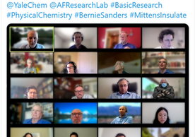 Virtual AFOSR Molecular Dynamics/Theoretical Chemistry Program Review (May 2020)
